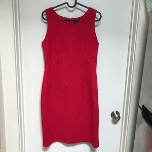 JM Studio Red Pencil Dress Size 10